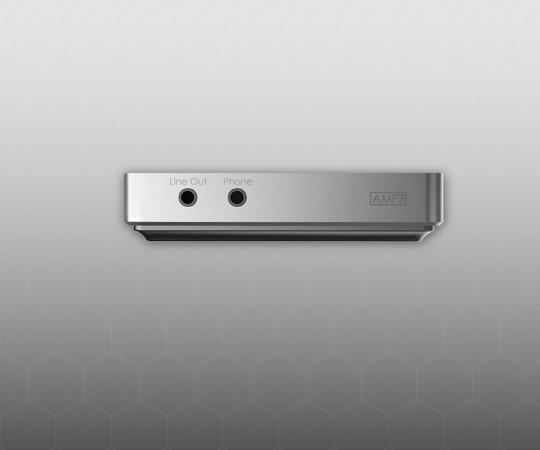 AMP7甲乙类四通道分立元件晶体管耳放卡
